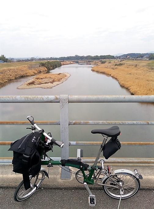 菊池川に架かる「第2分田橋」