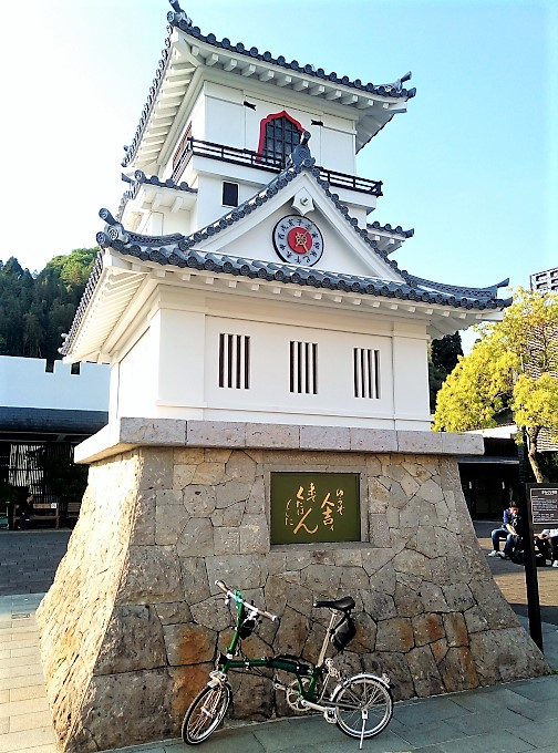 JR人吉駅前のからくり時計