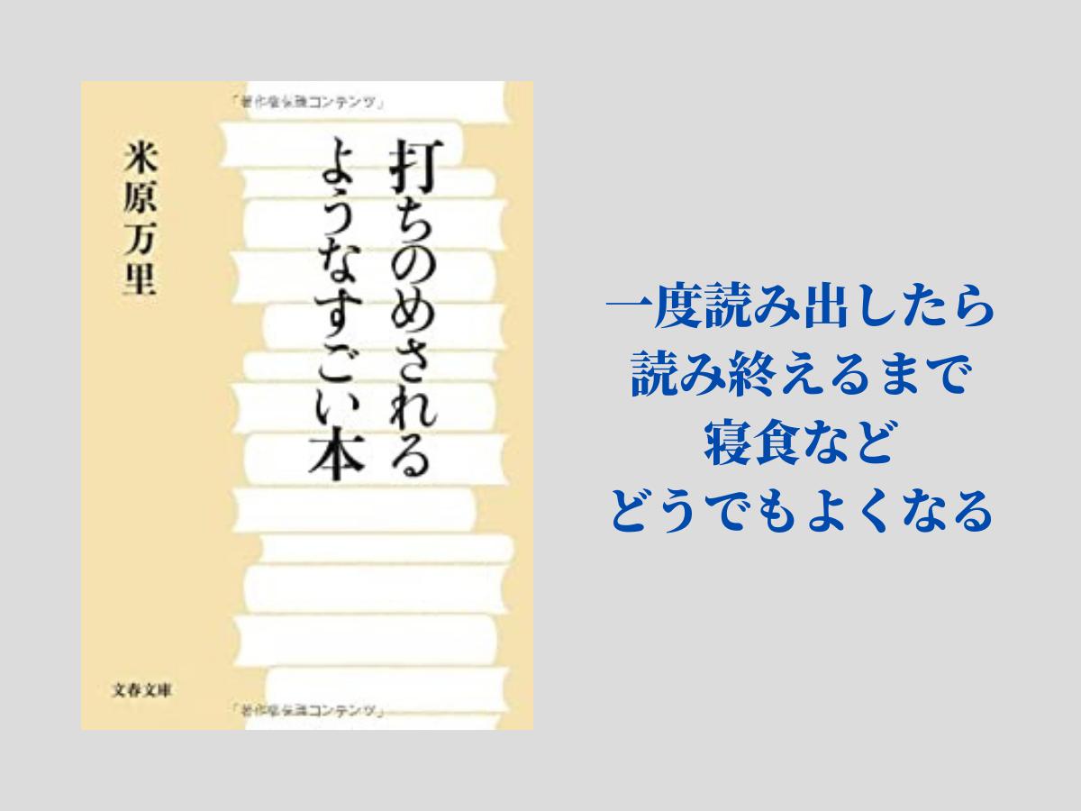 『打ちのめされるようなすごい本』