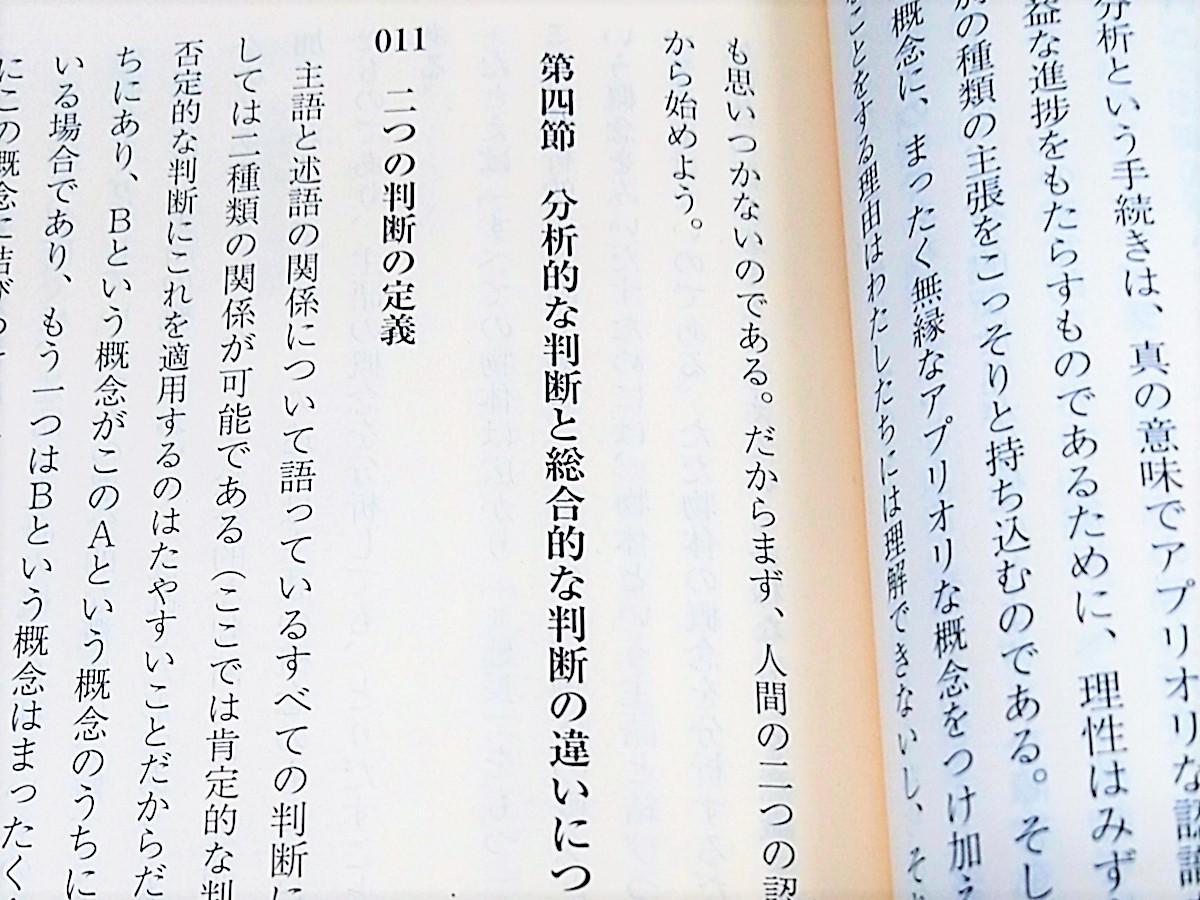 『純粋理性批判』読解記(その6)読み始める